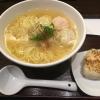 魚のアラでとったダシが絶妙にうまいあら炊き塩ラーメン 東京都新宿区新宿「麺屋海神」