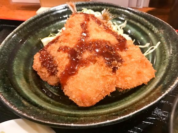 ランチで食べたい安くて美味しいアジフライ定食 東京都台東区上野「全国銘酒 たる松 上野店」