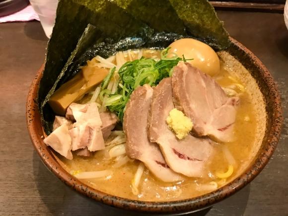 渋谷の味噌ラーメン専門店に行ってきました 東京都渋谷区渋谷「炙り味噌らーめん 麺匠 真武咲弥」