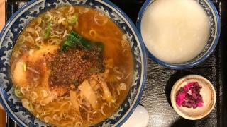 ラーメンと中華粥の二刀流が楽しめるラーメン屋 東京都葛飾区立石「けんけん」